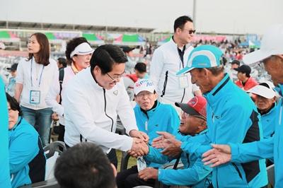 1. 아산시장, 제25회 충청남도 장애인 체육대회 개회식 참석 관련사진