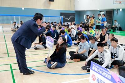2019.8.30 충청남도지사배 전국시각장애인 골볼선수권대회