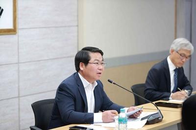 """오세현 아산시장, '민식이법' 등 시민 안전에 대해선 """"우선적 선제적 예산 집행"""" 관련사진"""