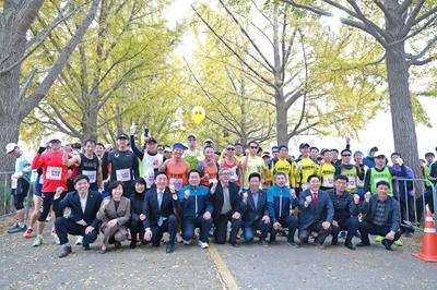 2019.11.10. 제5회 아산 은행나무길 전국 마라톤 대회