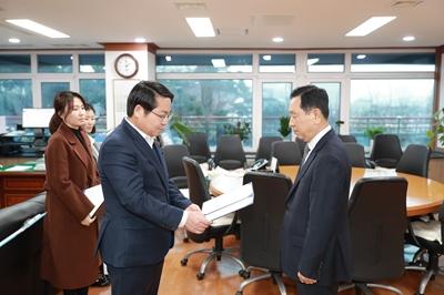 2019.12.30. 청소년재단 이사장, 상임이사 임명장 수여
