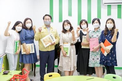 오세현 아산시장, '아산시 1인 1악기 동아리' 현장 방문 관련사진