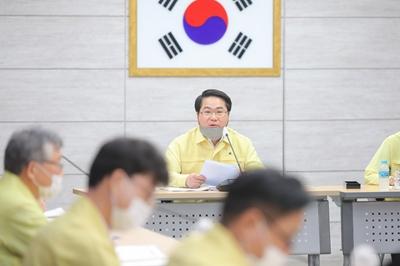 아산시, 7월 확대간부회의 개최 관련사진
