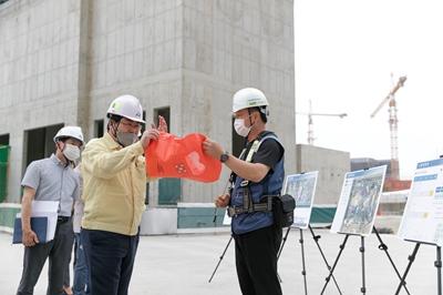 오세현 아산시장, 염치일반산업단지·탕정택지개발지구 현장 방문 관련사진