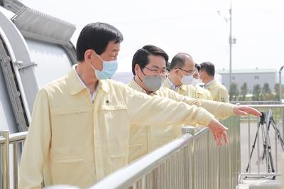 오세현 아산시장, 진영 행안부장관과 재해예방사업장 현장 점검 관련사진