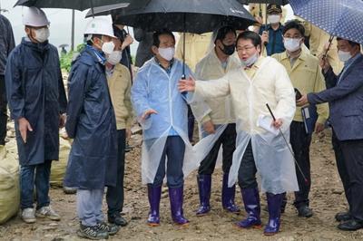 아산시, 집중호우 수해피해 대응에 최선 관련사진