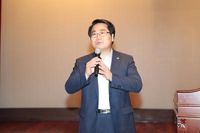 오세현 아산시장, 취임 이후 전 직원 첫 월례모임 주재 관련사진