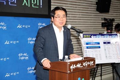 오세현 아산시장, 5만 일자리 창출 추진과 악취문제 해결 탄력 관련사진