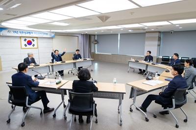 오세현 아산시장, 간부공무원의 눈높이에서 시민중심 행정에 관한 토론 관련사진