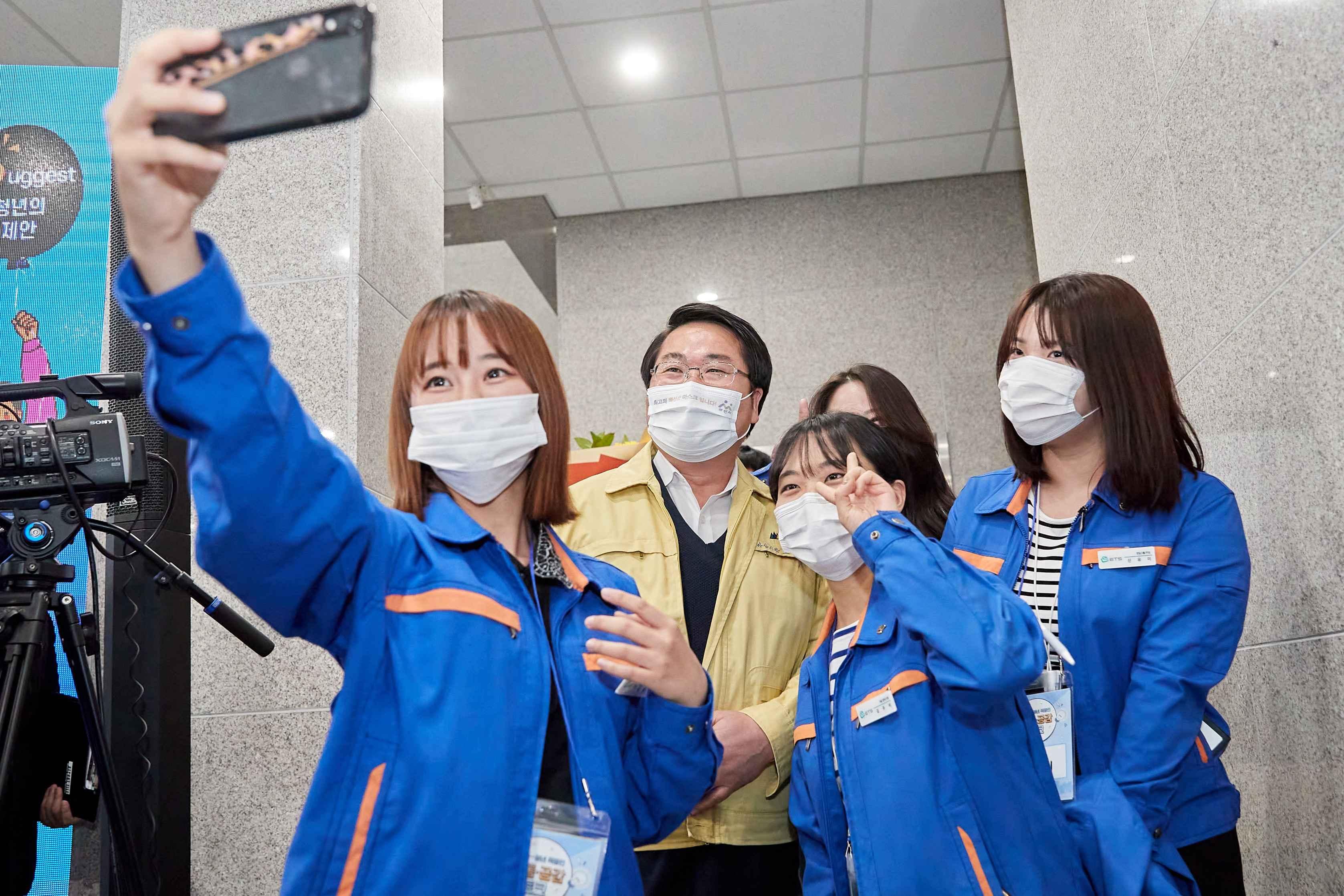 2020.11.27.양승조 도지사, 코로나19 관련 아산시 현장점검