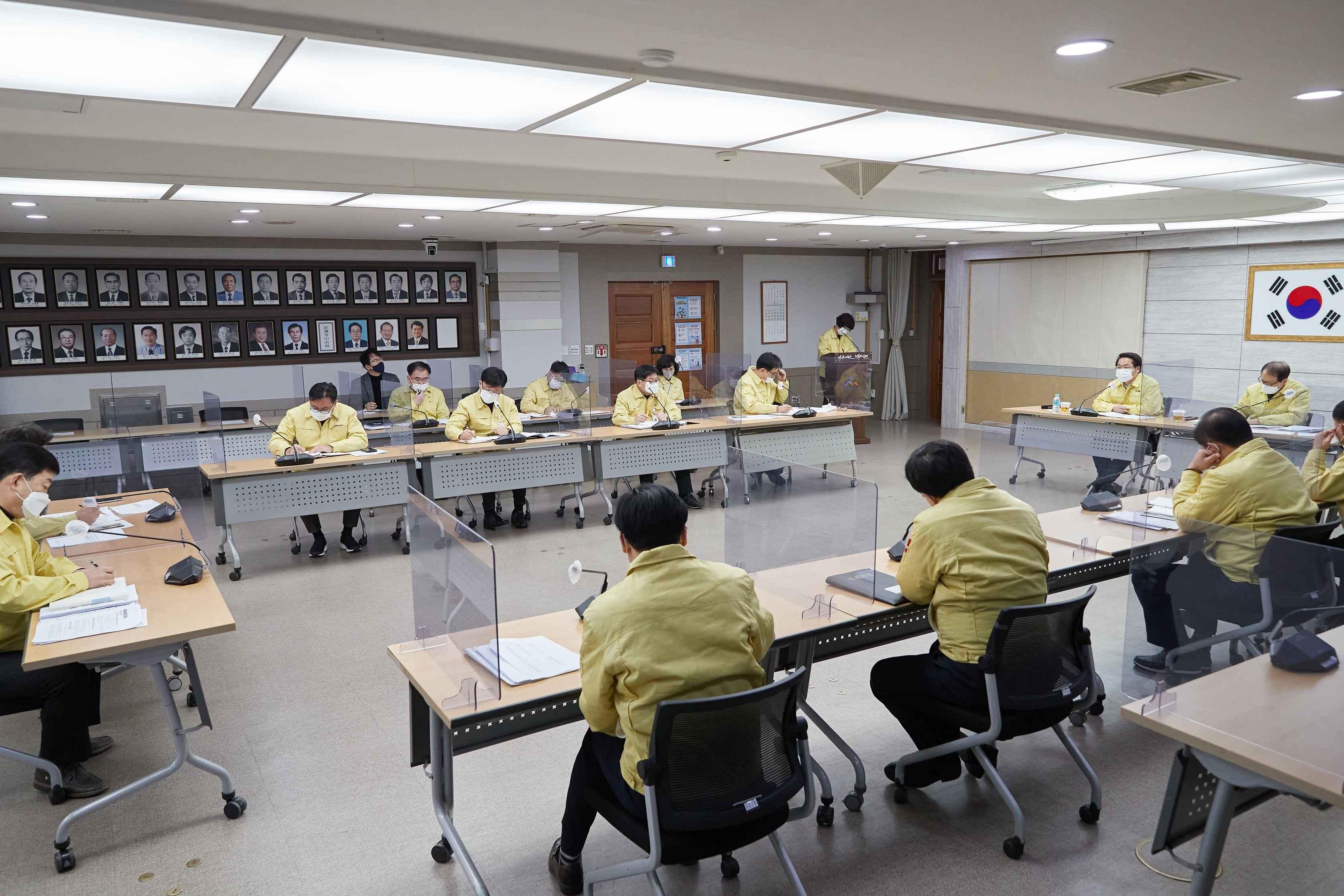 """오세현 시장 """"사회적 거리두기 단계 조정 코앞...확산세 반드시 잡자""""  관련사진"""