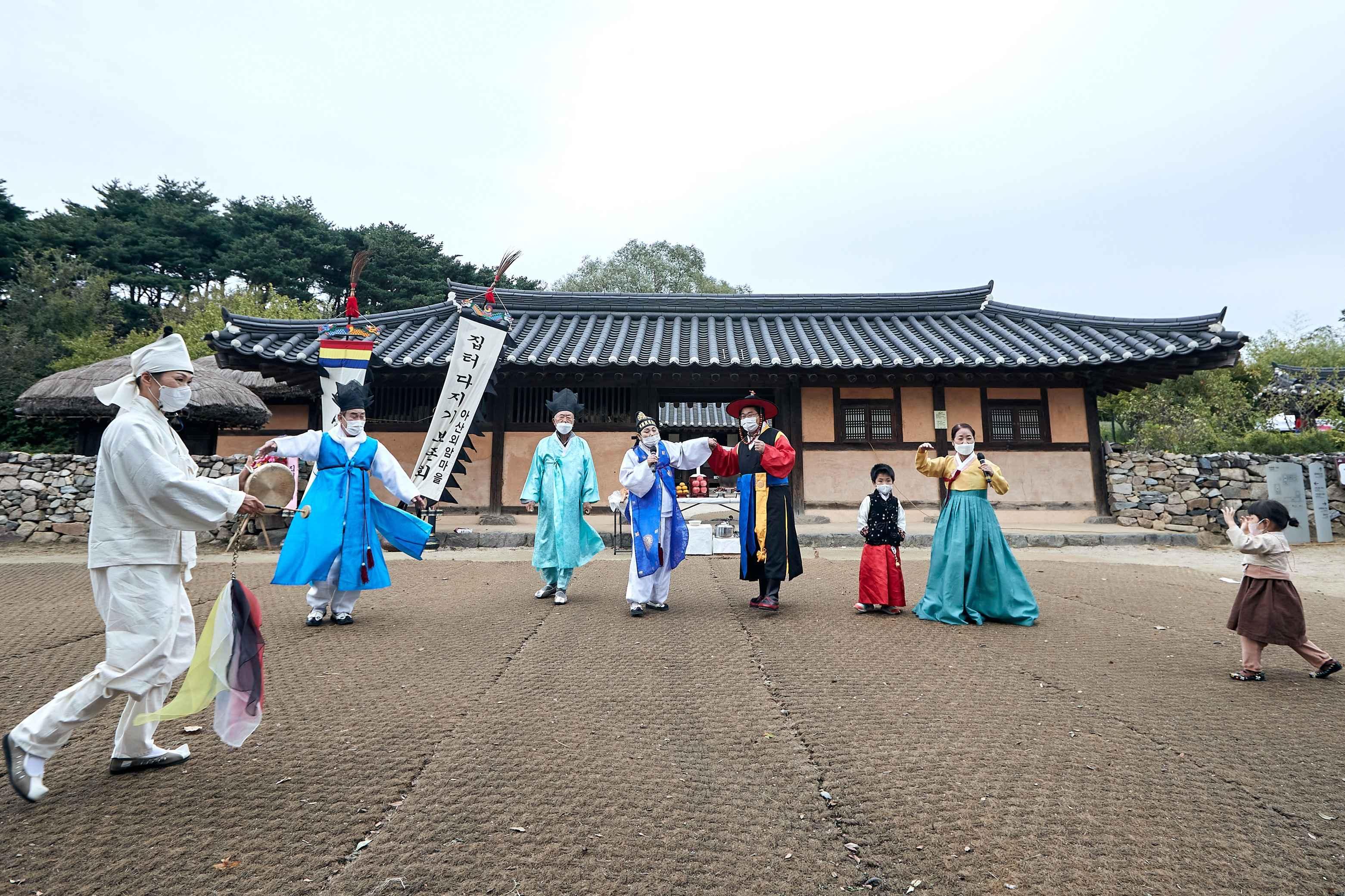 2021.10.16.한복문화주간 기념행사(외암민속마을)