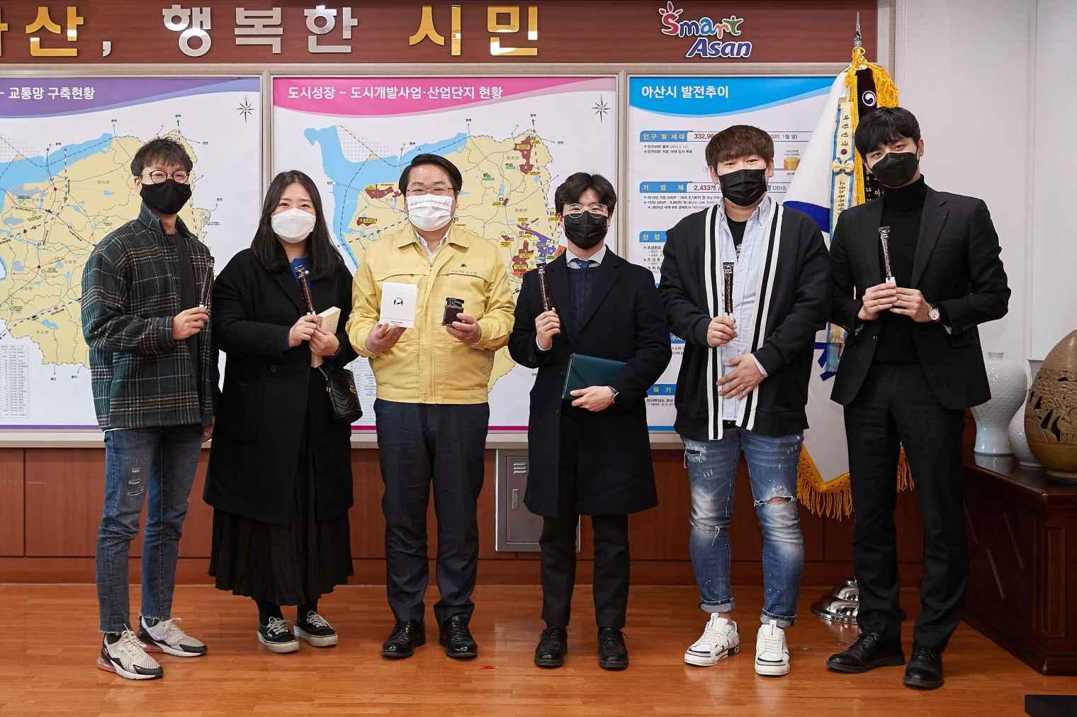 오세현 시장, 청년 CEO들과 대화의 시간 가져 관련사진