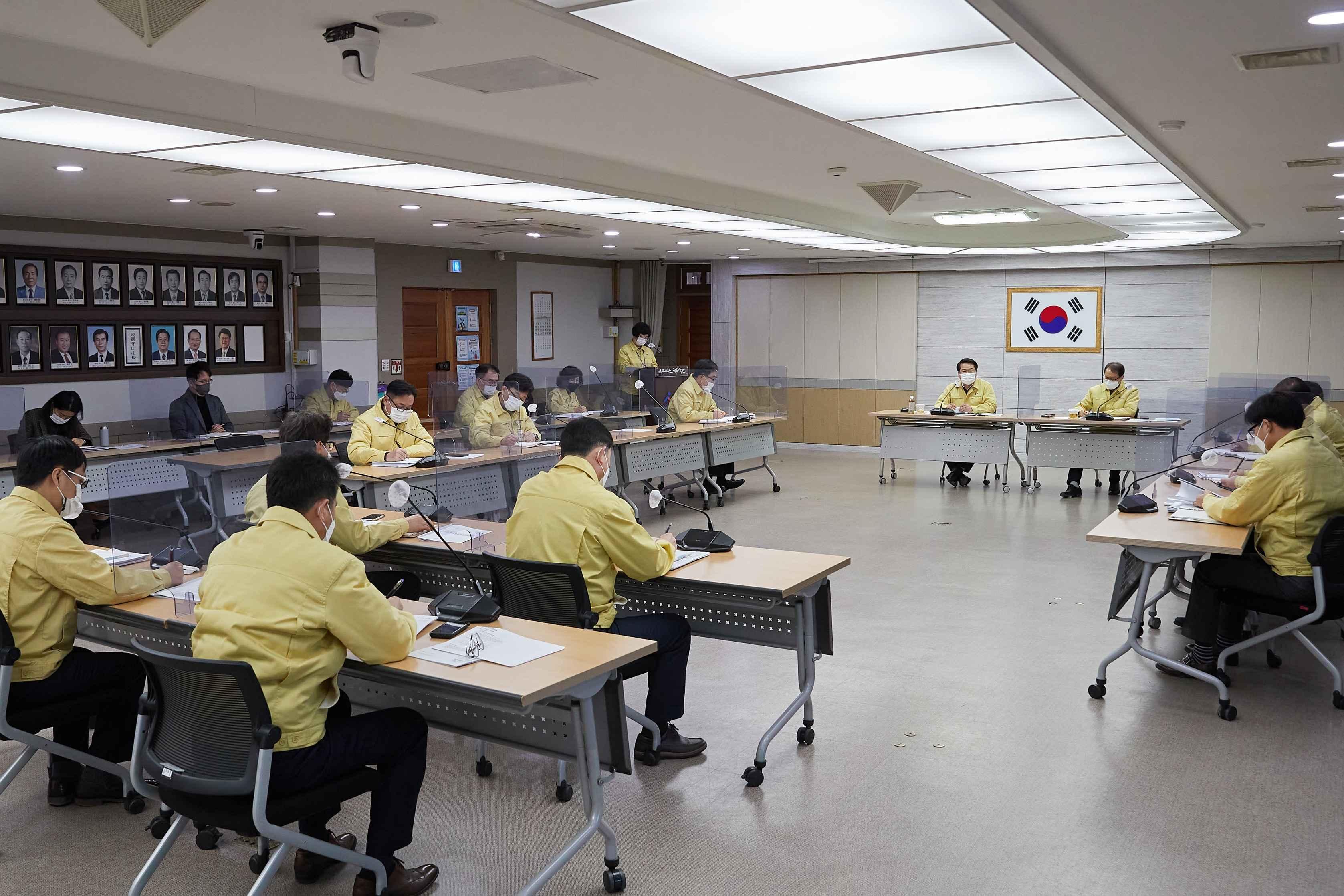 """오세현 시장 """"비인가 종교시설 통한 집단 감염 우려... 공직자 대상 선제 검사도 검토"""" 관련사진"""