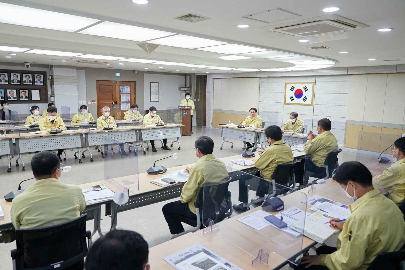 오세현 시장, 남은 두 달, 연내 마무리 가능한 사업 차질 없어야 관련사진