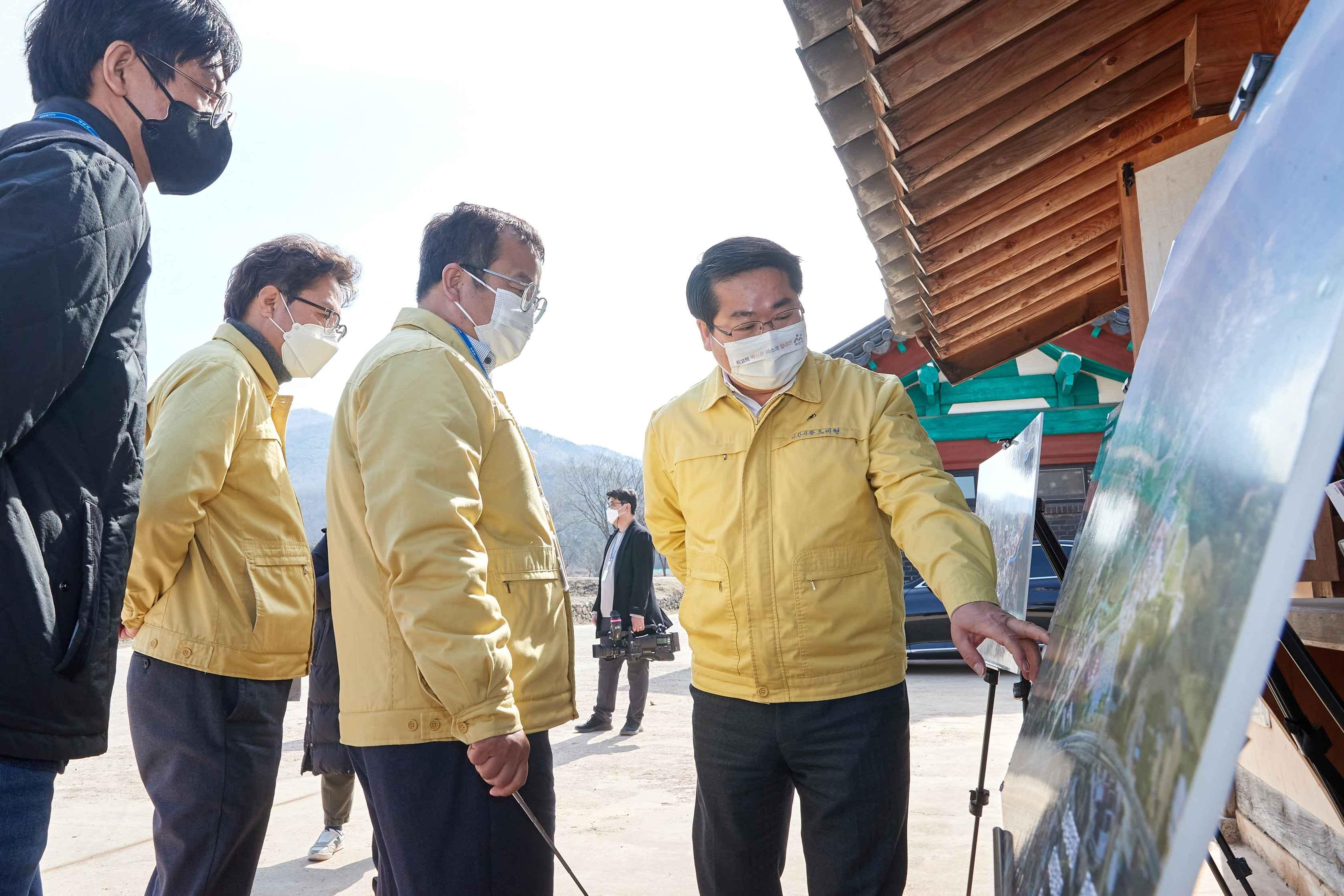 오세현 시장, 정월대보름 맞아 외암민속마을 방문 관련사진
